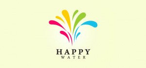 Happy-Water-logo-design